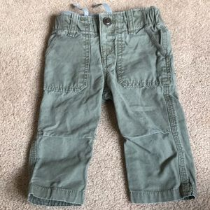 Gap cargo pants with stretchy waist